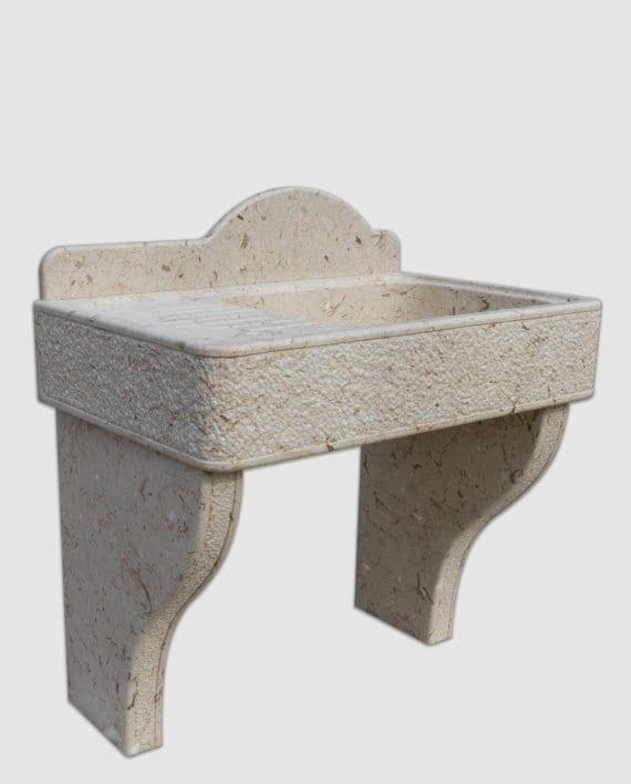 lavandino in pietra gocciolatoio piedi basi appoggio
