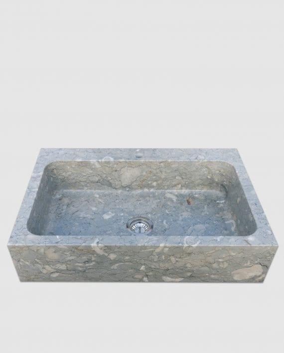 lavandino pietra blue perlage simply monovasca