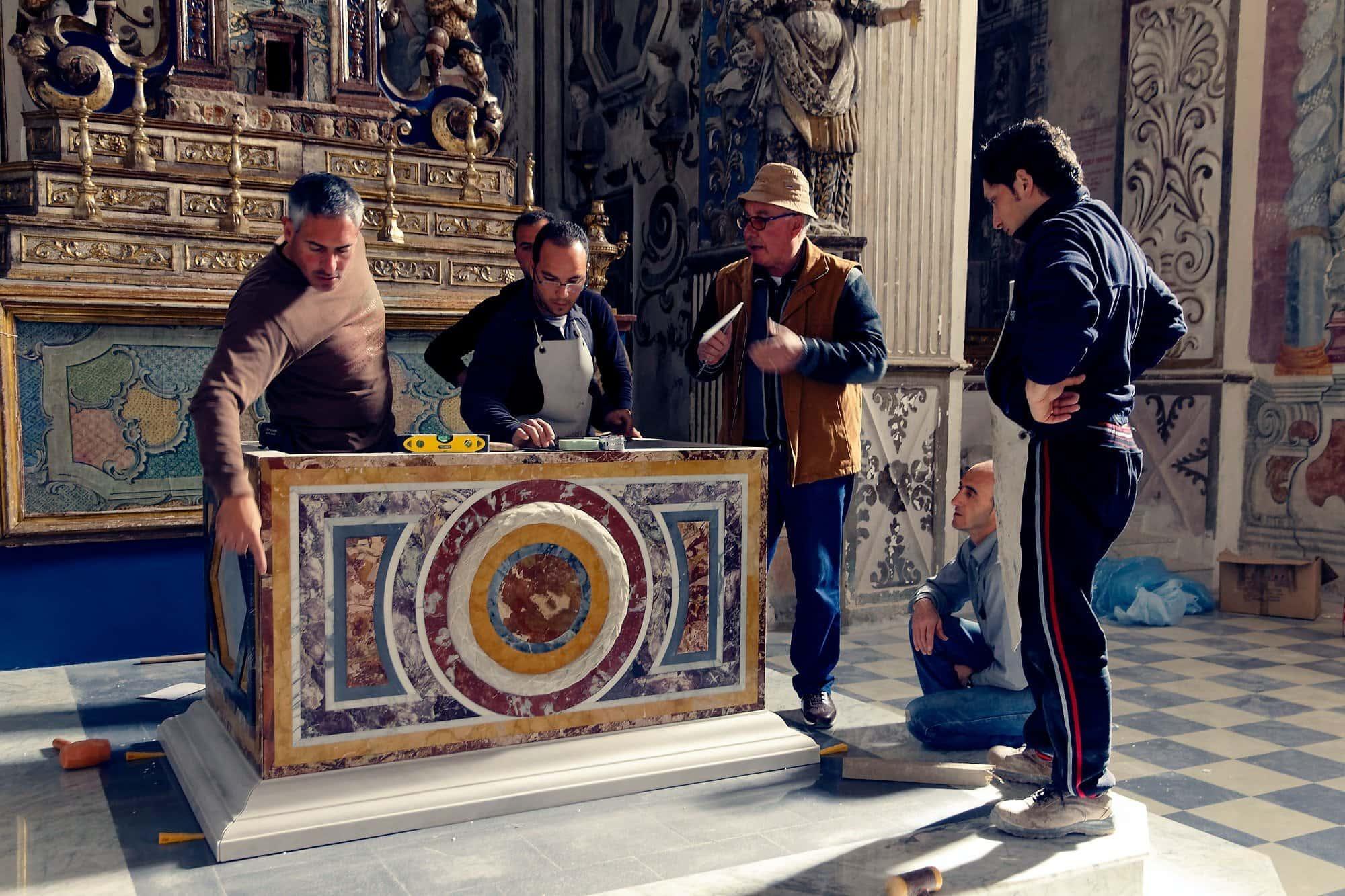 altare isnello marmi policromi cefalù 2