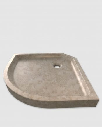 cappuccino marble shower tray