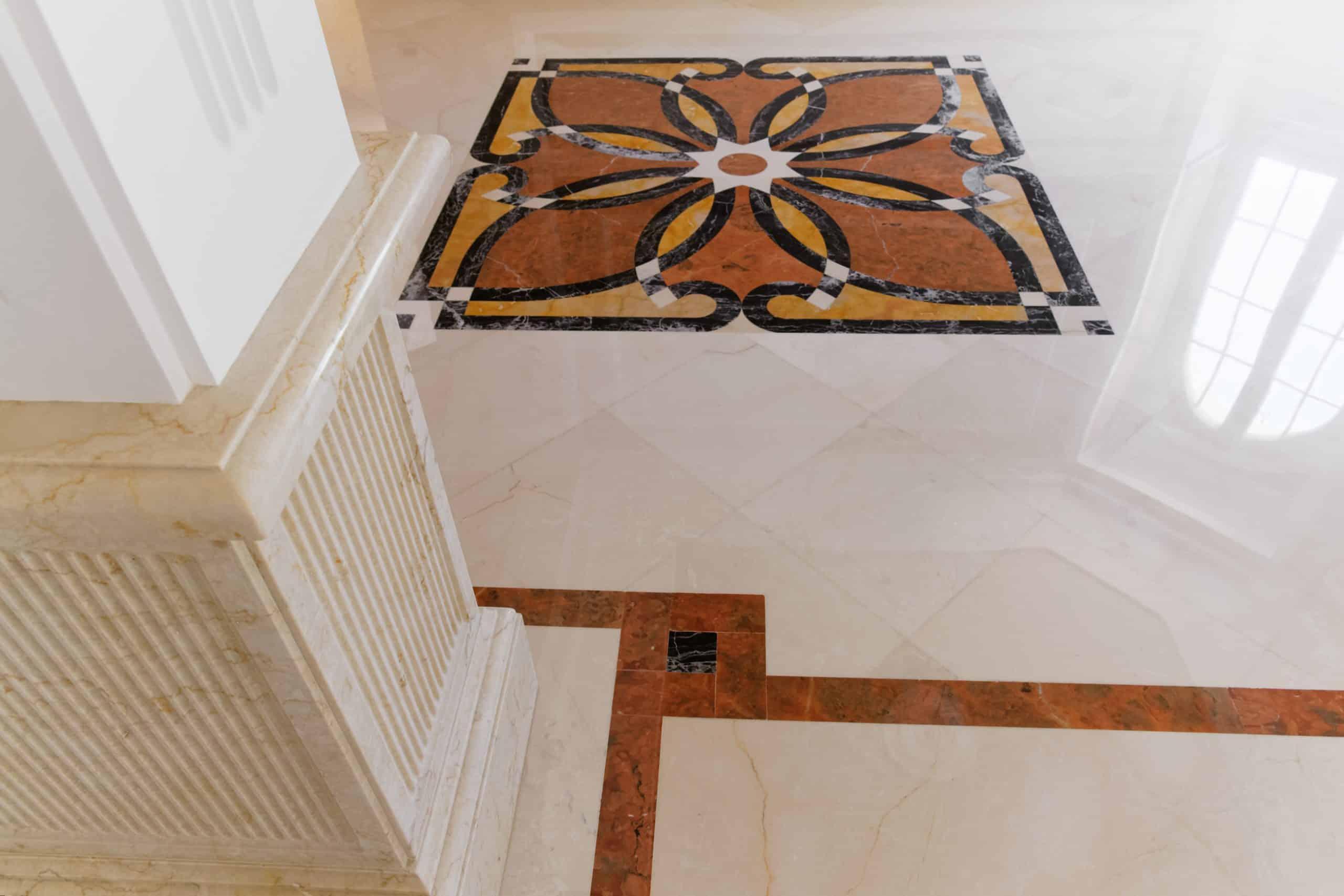 villa pavimento marmo intarsio carpet avorio 6 scaled