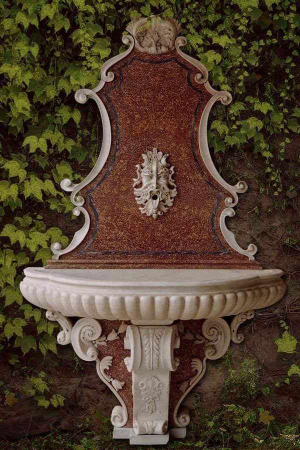 fontana in pietra broccatello mini
