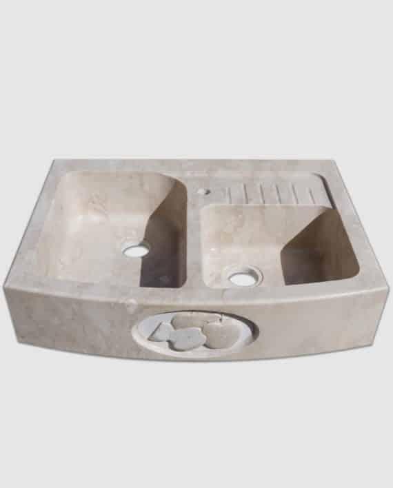 lavello pietra summa mini gocciolatoio salvaspazio