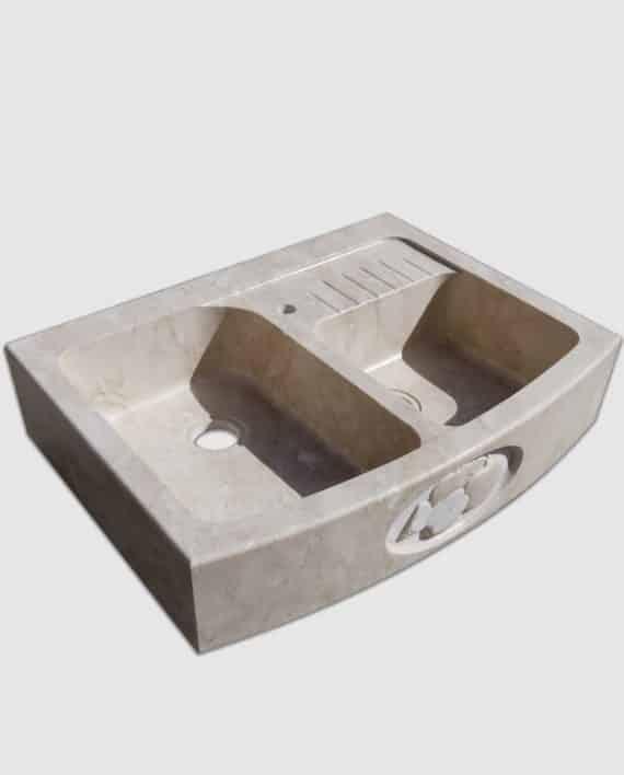 lavello pietra summa mini gocciolatoio salvaspazio lato