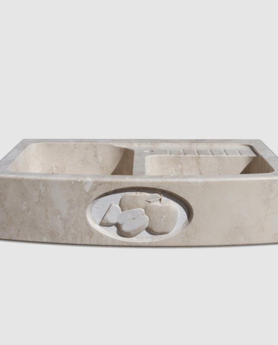 lavello pietra summa mini gocciolatoio salvaspazio mele