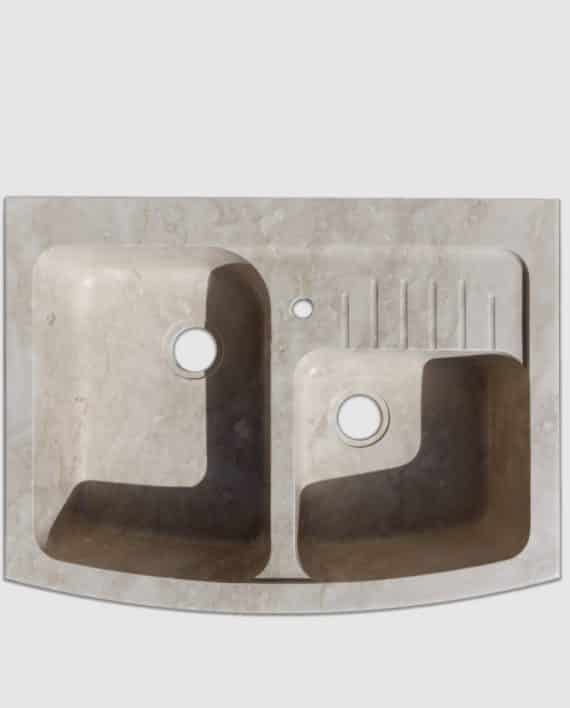 lavello pietra summa mini gocciolatoio salvaspazio sopra
